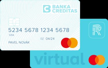 Virtuální karta CREDITAS pro platby online